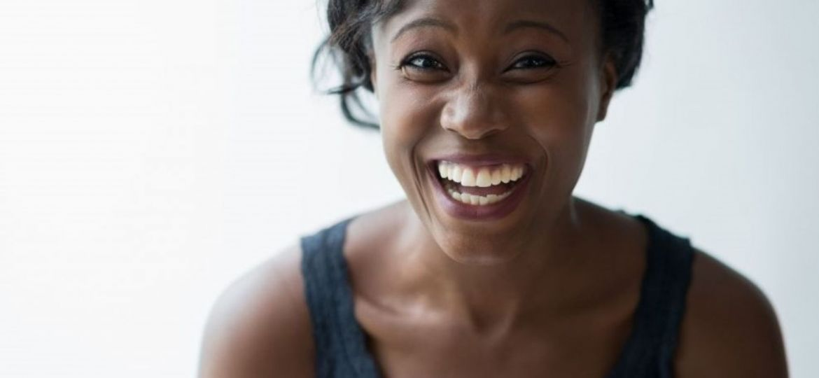 African American woman enjoying the benefits of smiling - Fairfield, CA